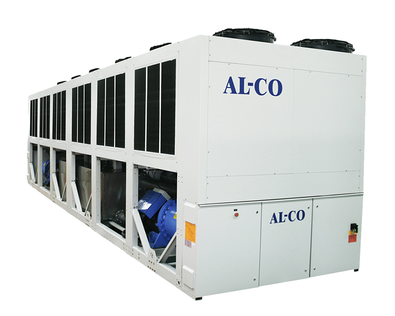 evaporative aircooled hybrid chiller photo